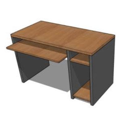 Mueble computador LI Asenjo línea intermedia