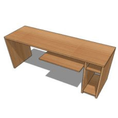 Mueble computador LSAsenjo línea superior