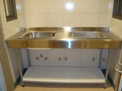 Lavamanos Hospital Metálico